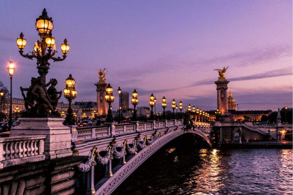 Výlet v Paříži