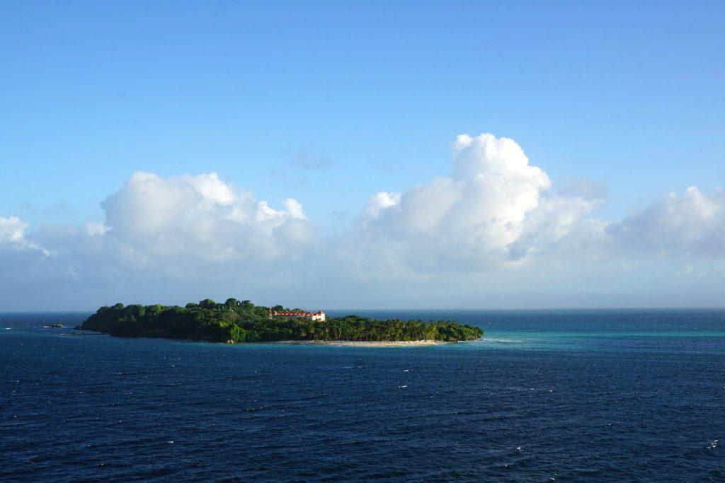 Levantado island na Dominikánská Republika