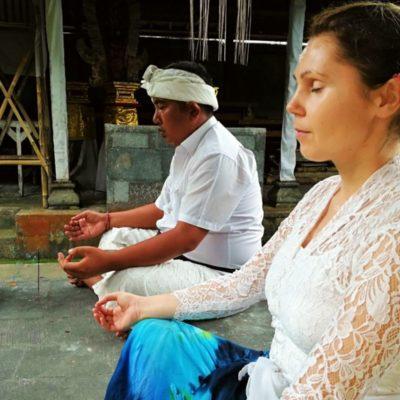 meditace na Bali