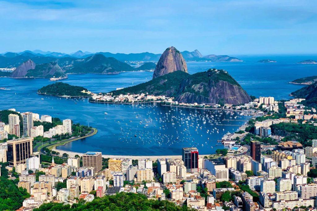 Mirante dona Marta v Rio de Janeiru