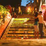 schody z Selaron