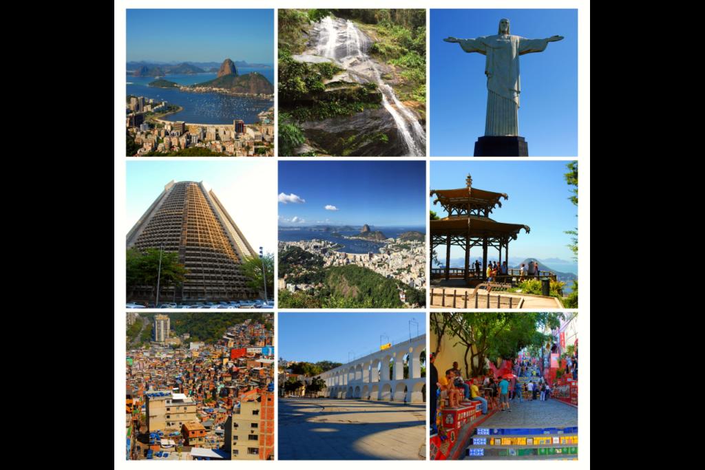 průvodce po Brazílii