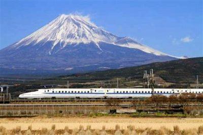 Vysokorychlostní vlak v Tokiu