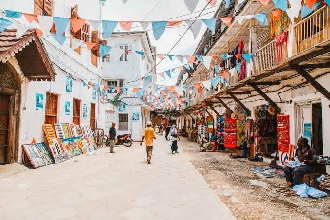 Prohlídka stone town na Zanzibaru