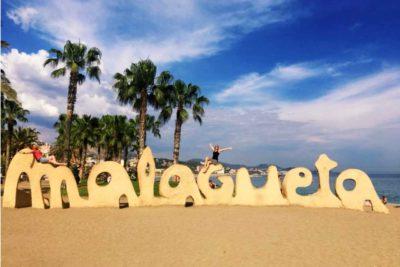 Pláž Malagueta v Malaze