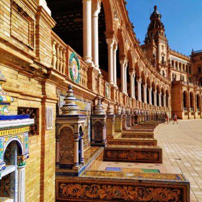 Náměstí Plaza de España v Seville