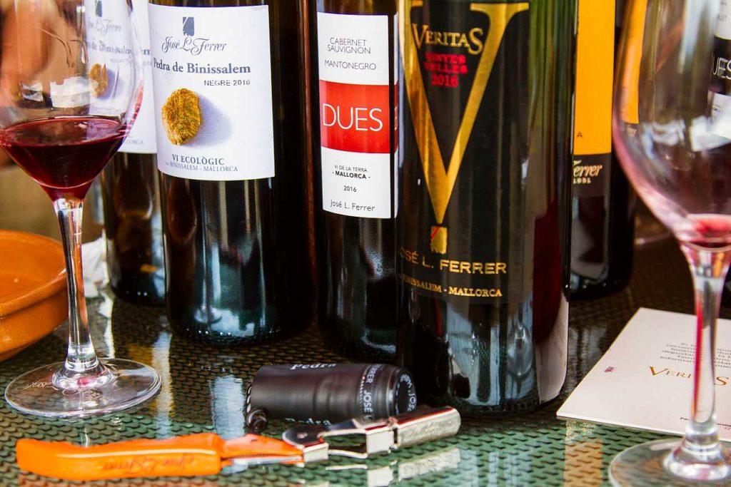 degustací vína Mallorca