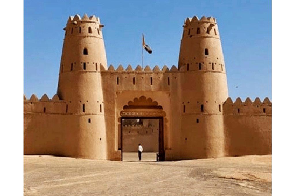 Městečko Al Ain v Emirátech