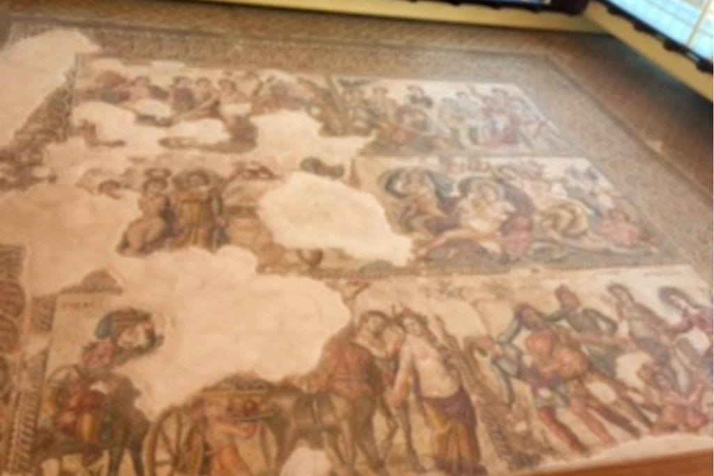 navštivte římské ruiny na Kypru