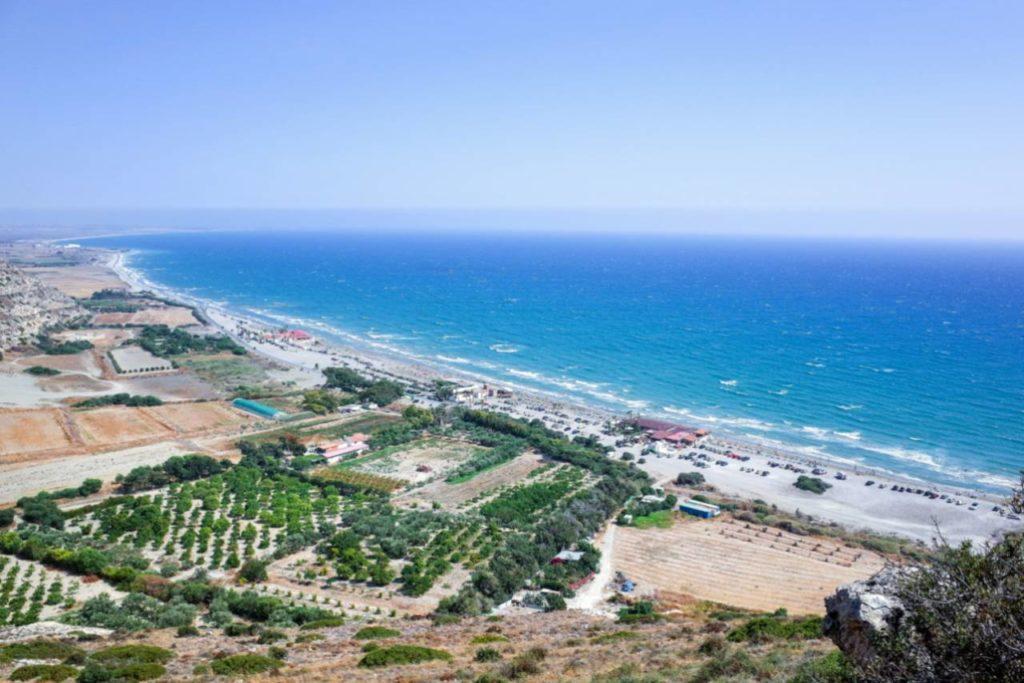 pláže na Kypru