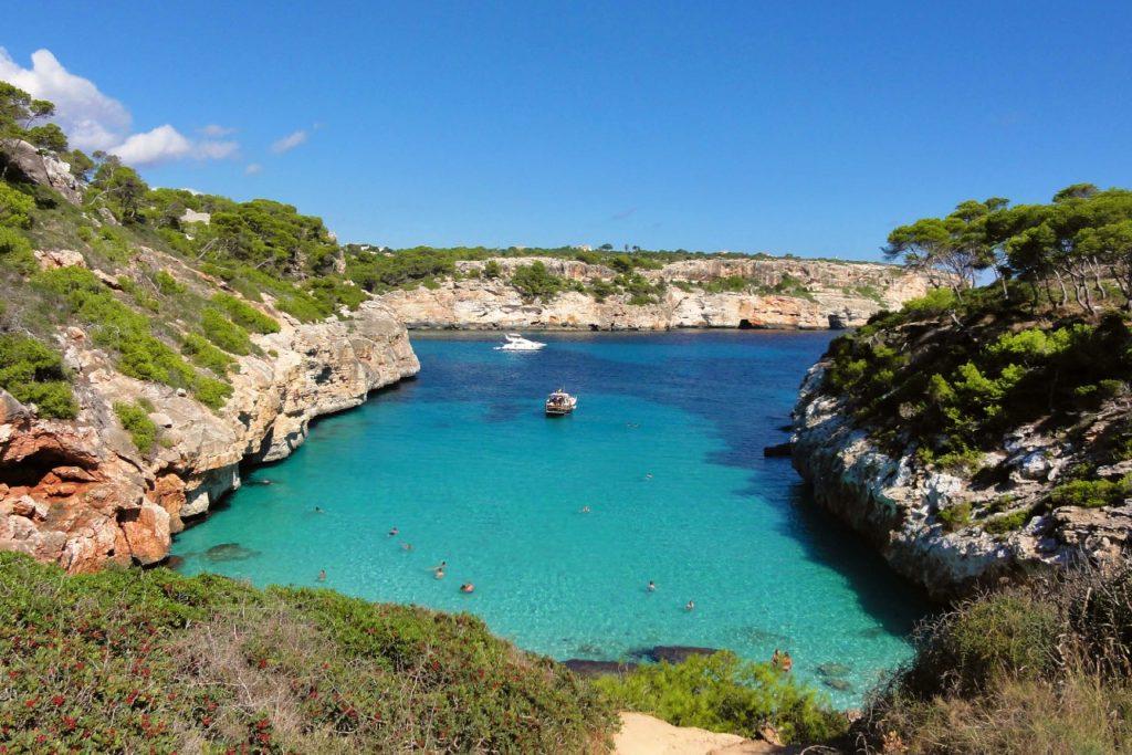 nejlepší pláže na ostrově Mallorca