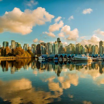 mrakodrapy ve Vancouveru
