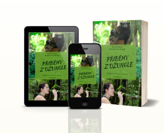 Dárek pro cestovatele, ebook příběhy z džungle