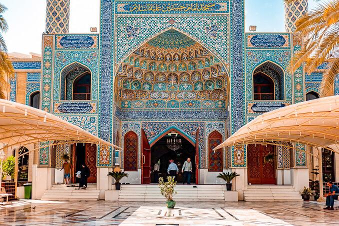 Mešita v Dubaji, cestování do Dubaje
