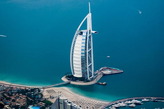 Burj Al Arab v Dubaji