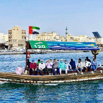 Loďka v Dubaji