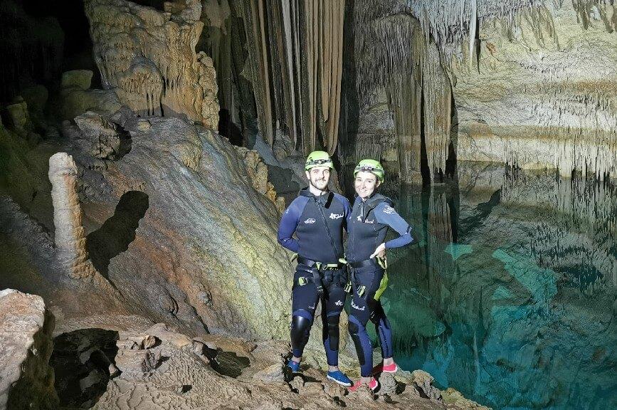 Mallorca mořská jeskyně