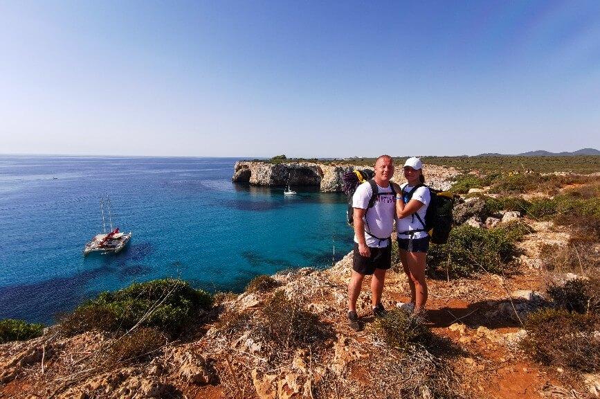 Mallorca výhled na útesy